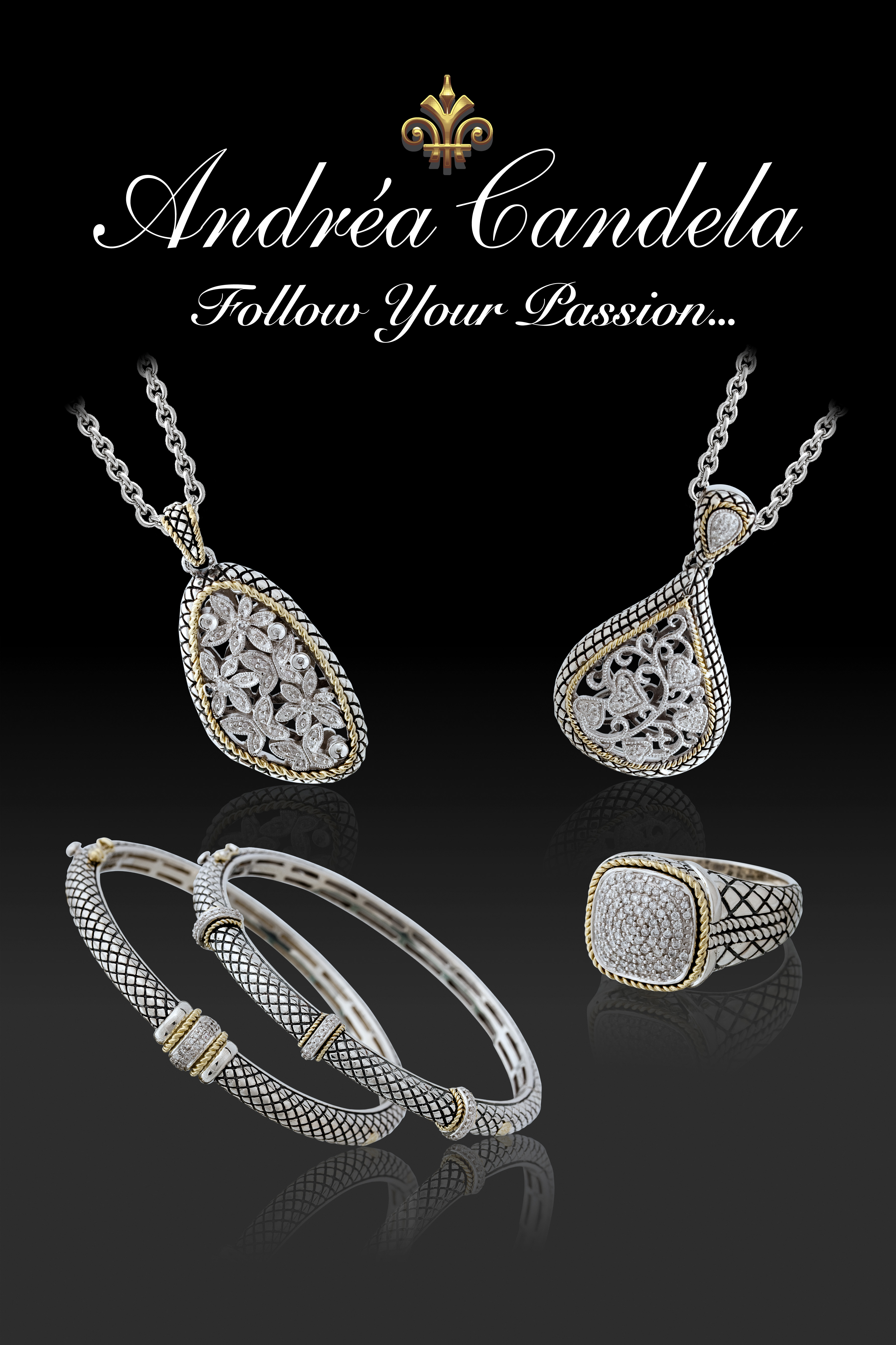 Andrea Candela - poster_2009.jpg - brand name designer jewelry in Dunkirk, Maryland